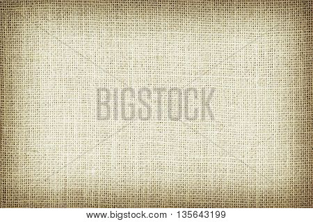 Natural sackcloth textured for background. Gree color.