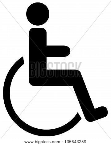Handicap icon symbol physical impairment computer icon wheelchair,
