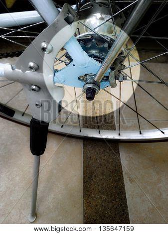 Cassette aluminum Vintage bicycle equipment focus select