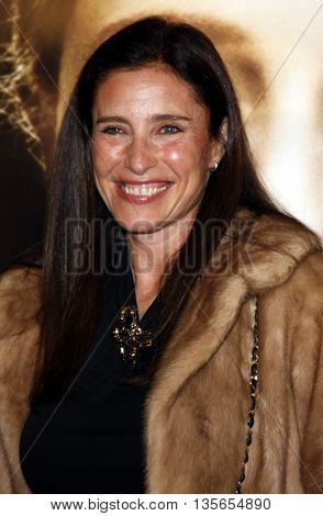 Mimi Rogers at the Los Angeles premiere of 'The Curious Case of Benjamin Button' held at the Mann Village Theater in Westwood, USA on December 8, 2008.