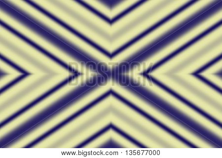 Illustration of a dark blue and vanilla colored x-pattern