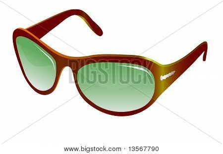 Trendy yellow sunglasses for women