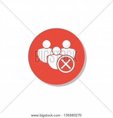 User Cancel Icon In Vector Format. Premium Quality User Cancel Symbol. Web Graphic User Cancel Sign