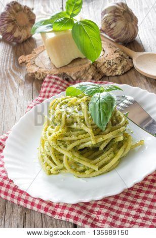 Bucatini Pasta By Pesto