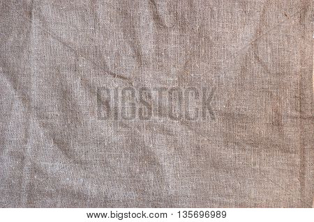 Crushed sackcloth woven texture pattern background texture