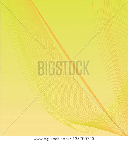 Abstract Wire Mesh Wave Background - vector