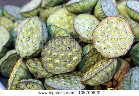 Asia Vietnam Market Fegetable Lotus