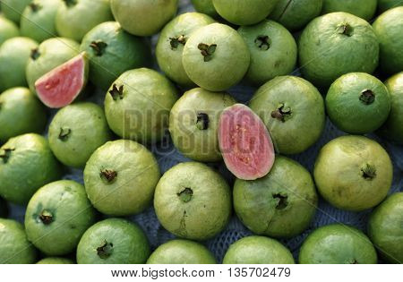 Asia Vietnam Market Fruit Guava