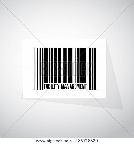 Facility Management Barcode Sign