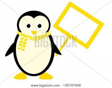 Funny Penguin illustration