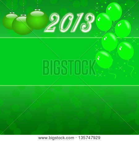 Christmas background, happy new 2013 year