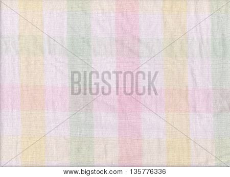 Bright colors of scots pattern fabric texture for design abstract background.