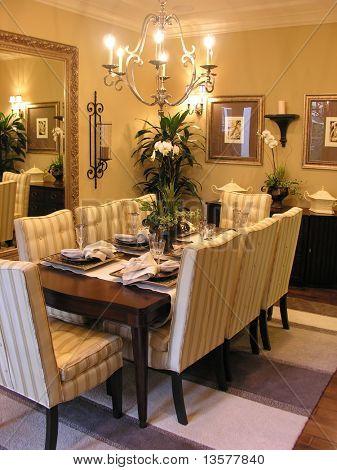 Classy dining room interior
