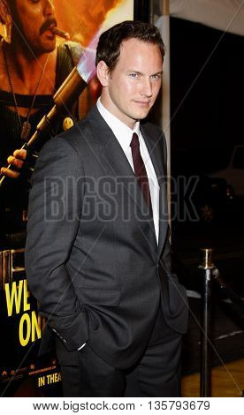 Patrick Wilson at the Los Angeles premiere of 'Watchmen' held at the Grauman's Chinese Theater in Hollywood, USA on March 3, 2009.
