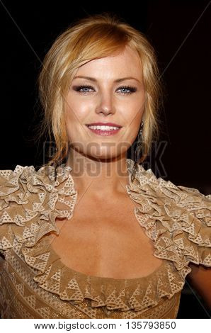 Malin Akerman at the Los Angeles premiere of 'Watchmen' held at the Grauman's Chinese Theater in Hollywood, USA on March 3, 2009.