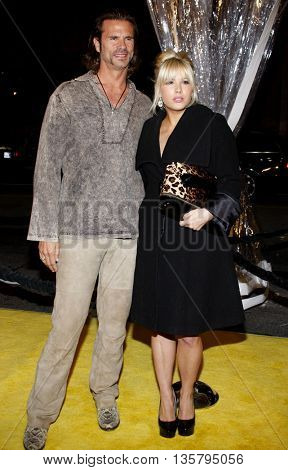Lorenzo Lamas and Shayne Lamas at the Los Angeles premiere of 'Watchmen' held at the Grauman's Chinese Theater in Hollywood, USA on March 3, 2009.