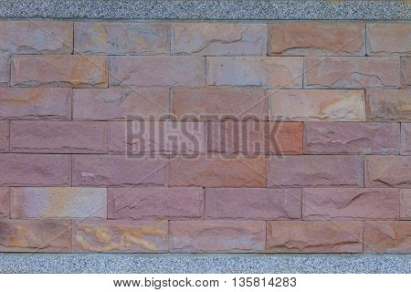 Textured of stone wall can be used as background