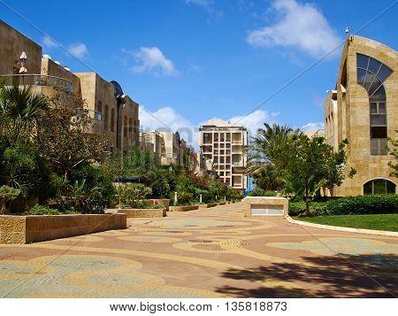 Modern design luxurious executive apartments city condominium building