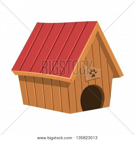 Doghouse Colorful Icon