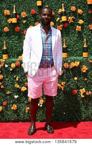JERSEY CITY, NJ - MAY 30: NFL player Jaiquawn Jarrett attends the 8th Annual Veuve Clicquot Polo Classic at Liberty State Park on May 30, 2015 in Jersey  City, New Jersey.