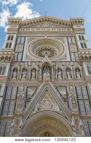 Cathedral of Saint Mary of the Flower in Florence Italy (Cattedrale di Santa Maria del Fiore)