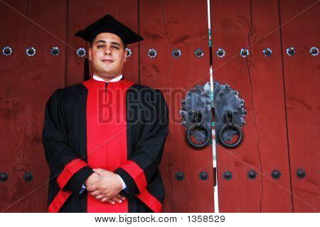 Finalmente llega el día de la graduación.