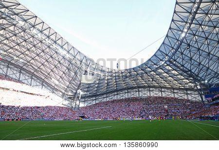 Stade Velodrome In Marseille, France