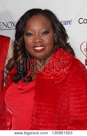 NEW YORK-FEB 10, 2015: TV personality Star Jones attends the 12th Annual Woman's Day Red Dress Awards at Jazz at Lincoln Center on February 10, 2015 in New York City.