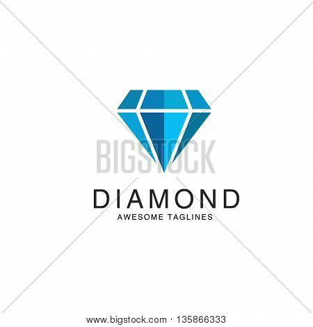 Diamond logo premium, Premium quality diamond vector