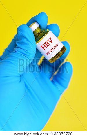 Hepatitis B virus (HBV) vaccine for injection