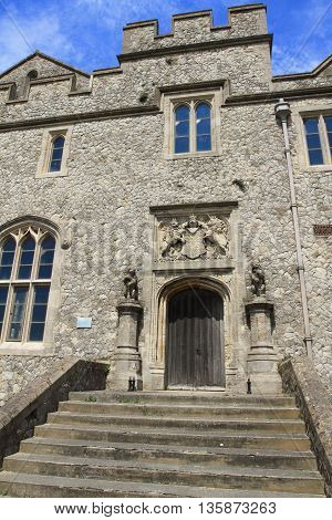 traditional English architecture of Dover in England