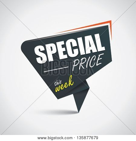 Special price bubble
