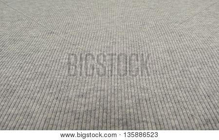 Grey ribbed cotton useful as a background