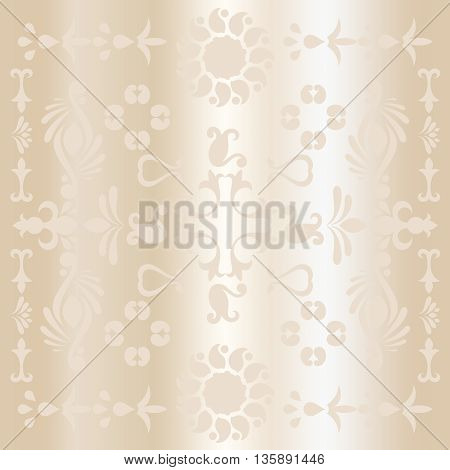 Abstract gift voucher background in dull gold for Christmas and New Year holidays