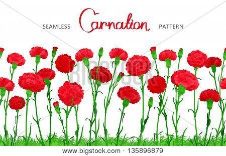 Flower Seamless Border