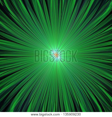 Divergent rays of light. 3D illustration. Sacred geometry. Mysterious psychedelic relaxation pattern. Fractal abstract texture. Digital artwork graphic design astrology alchemy magic.