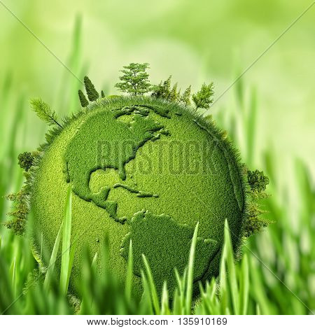 Green Planet abstract environmental backgrounds for your design