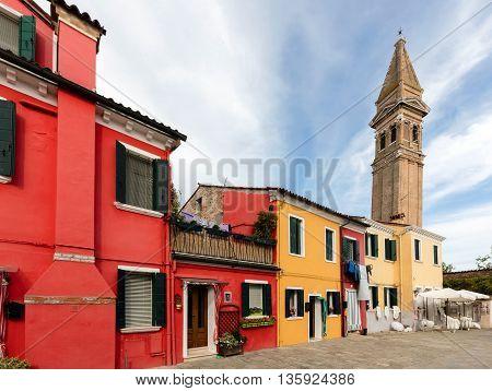 Church Of San Martino Leaning Campanile