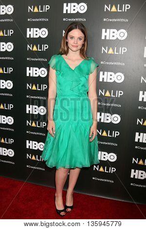 LOS ANGELES - JUN 25:  Sarah Ramos at the NALIP 2016 Latino Media Awards at the The Dolby on June 25, 2016 in Los Angeles, CA