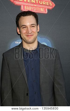 LOS ANGELES - JUN 23:  Ben Savage at the 100th DCOM Adventures In Babysitting LA Premiere Screening at the Directors Guild of America on June 23, 2016 in Los Angeles, CA