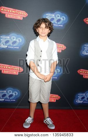 LOS ANGELES - JUN 23:  August Maturo at the 100th DCOM Adventures In Babysitting LA Premiere Screening at the Directors Guild of America on June 23, 2016 in Los Angeles, CA