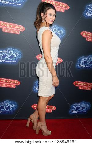 LOS ANGELES - JUN 23:  Cerina Vincent at the 100th DCOM Adventures In Babysitting LA Premiere Screening at the Directors Guild of America on June 23, 2016 in Los Angeles, CA