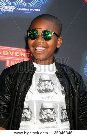 LOS ANGELES - JUN 23:  Brandon Severs at the 100th DCOM Adventures In Babysitting LA Premiere Screening at the Directors Guild of America on June 23, 2016 in Los Angeles, CA