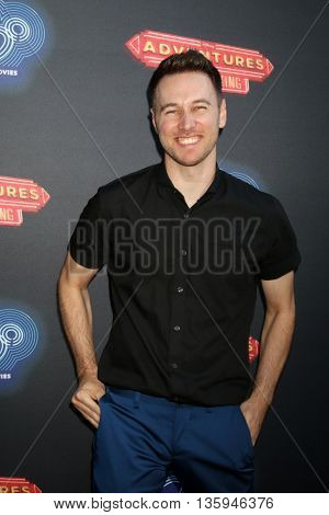 LOS ANGELES - JUN 23:  Christopher Scott at the 100th DCOM Adventures In Babysitting LA Premiere Screening at the Directors Guild of America on June 23, 2016 in Los Angeles, CA