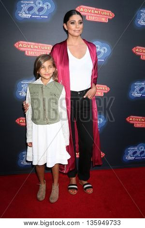 LOS ANGELES - JUN 23:  Tallulah Ruth Dash, Rachel Roy at the 100th DCOM Adventures In Babysitting LA Premiere Screening at the Directors Guild of America on June 23, 2016 in Los Angeles, CA