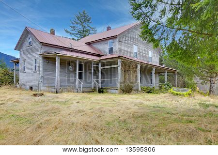 Very Old Rustic American Country House