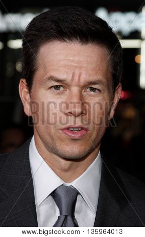 Mark Wahlberg at the Los Angeles premiere of 'Max Payne' held at the Grauman's Chinese Theater in Los Angeles, USA on October 13, 2008.