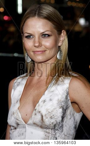 Jennifer Morrison at the Los Angeles premiere of 'Max Payne' held at the Grauman's Chinese Theater in Los Angeles, USA on October 13, 2008.