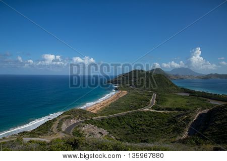 The Beautiful St Kitts Island, nice weather