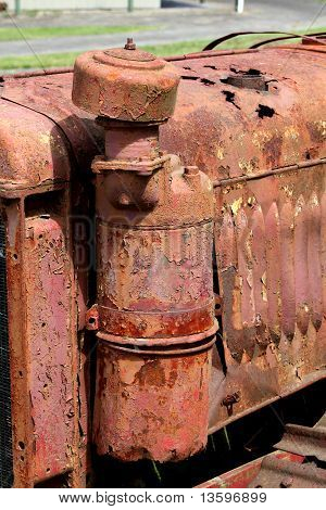 Detail of rusty machinery